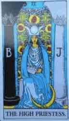 # 2 - La Papessa e gli arcani maggiori